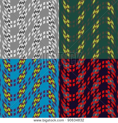 Seamless Patterns Of Squares