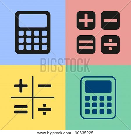 Calculator Icons.