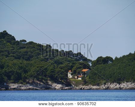 East side of the Croatian island Mljet