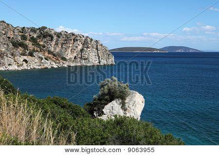 Greek coast near Tolo