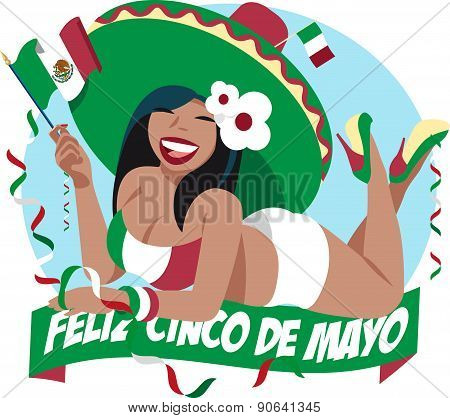 Cinco De Mayo Girl