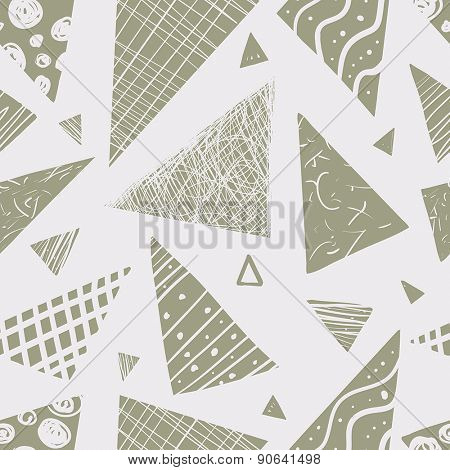 vector seamless pattern.funky geometrical seamless pattern