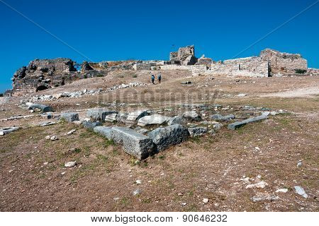 Miletus Landscape Around Theater