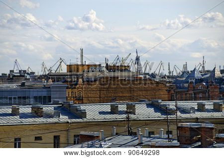 Roofs and cranes
