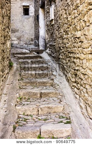 Narrow Alley In Gordes