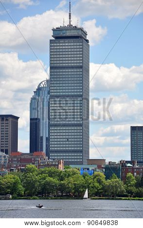 Prudential Center in Back Bay, Boston