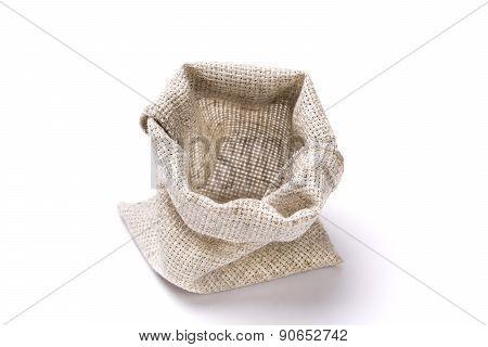Empty Linen Bag