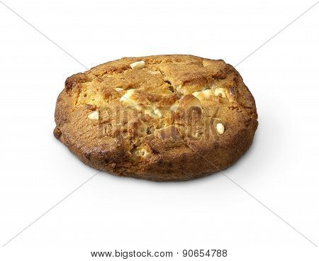 Single Cookie With White Chocolate