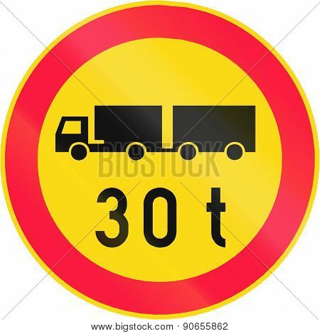Lorry Weight Limit In Finland