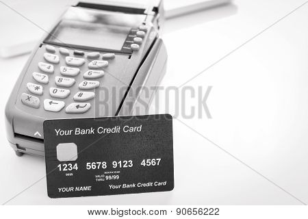 Your Credit Card With Credit Card Machine