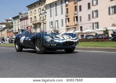 Mille Miglia,the famous race for retro cars