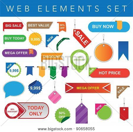 Web Elements Set