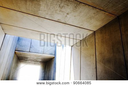 Cement structure.