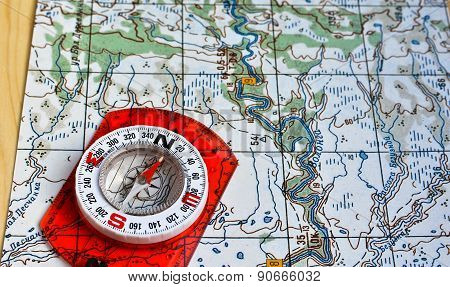 Map And Compass.