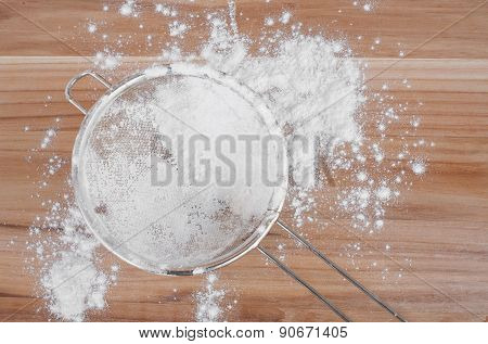 Sieve And Flour