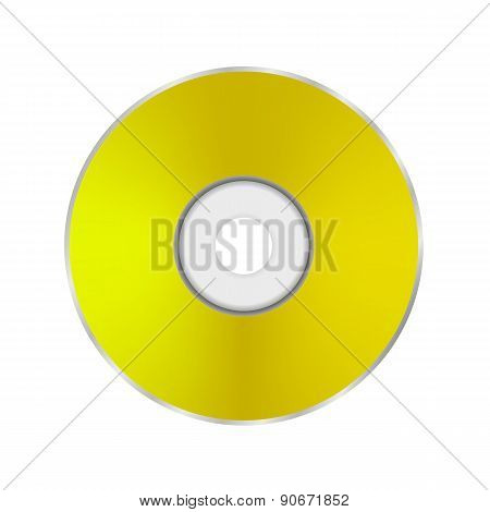 Gold Compact Disc