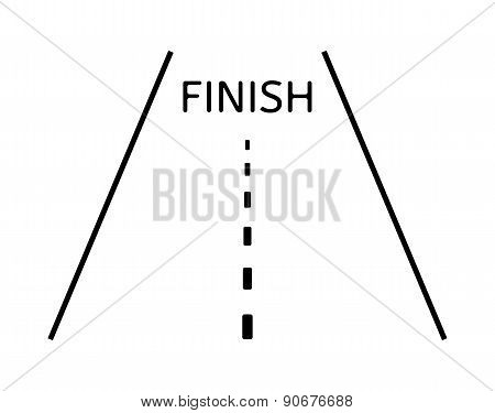 Road And Finish