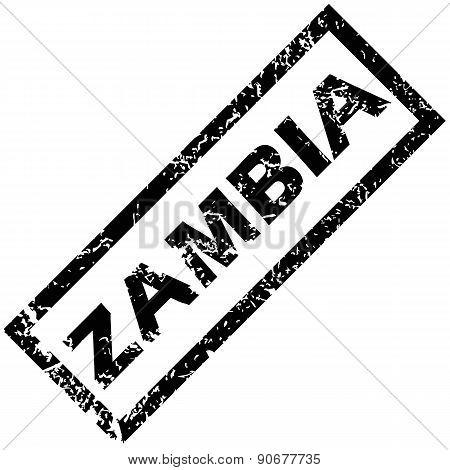 ZAMBIA rubber stamp