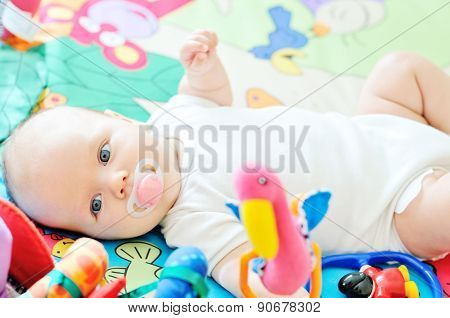 Baby On The Carpet