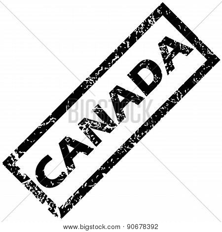 CANADA rubber stamp