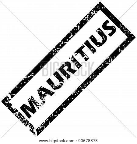 MAURITIUS rubber stamp