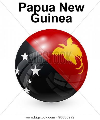papua new guinea official state flag