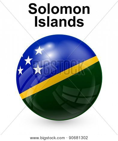 solomon islands official state flag