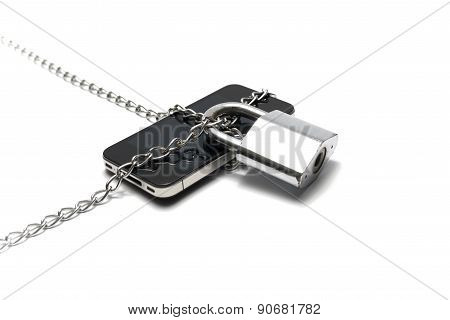 Smart Phone With Chain