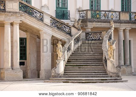 Esterhazy Castle -stairs To The Palace