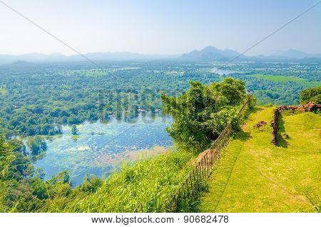 View from Monte Sigiriya, Lion Rock Fortress
