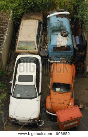 Junkyard Cars