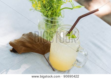 Iced Honey And Lemon