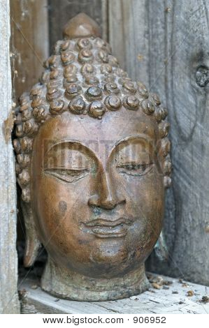 Buddha W/Old Wood