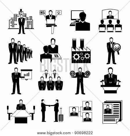 organization management icons