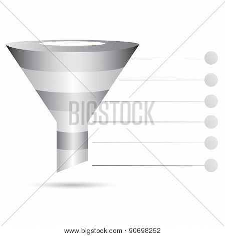 funnel diagram, marketing diagram