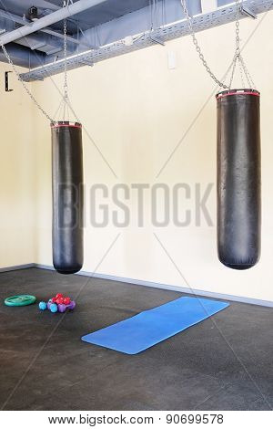 The image of a punching bag