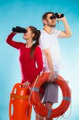 picture of lifeguard  - Accident prevention and water rescue - JPG