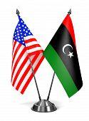 stock photo of libya  - USA and Libya  - JPG