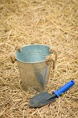 foto of spade  - spoon spade shovel and bucketgardening tools or agriculture tools - JPG