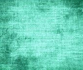 pic of aquamarine  - Grunge background of aquamarine burlap texture for design - JPG
