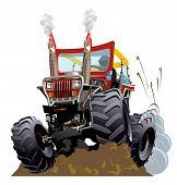 foto of monster-truck  - Cartoon Monster Truck - JPG