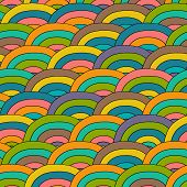 image of pattern  - Seamless bright background - JPG