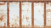pic of rusty-spotted  - Texture of an rusty metal  - JPG