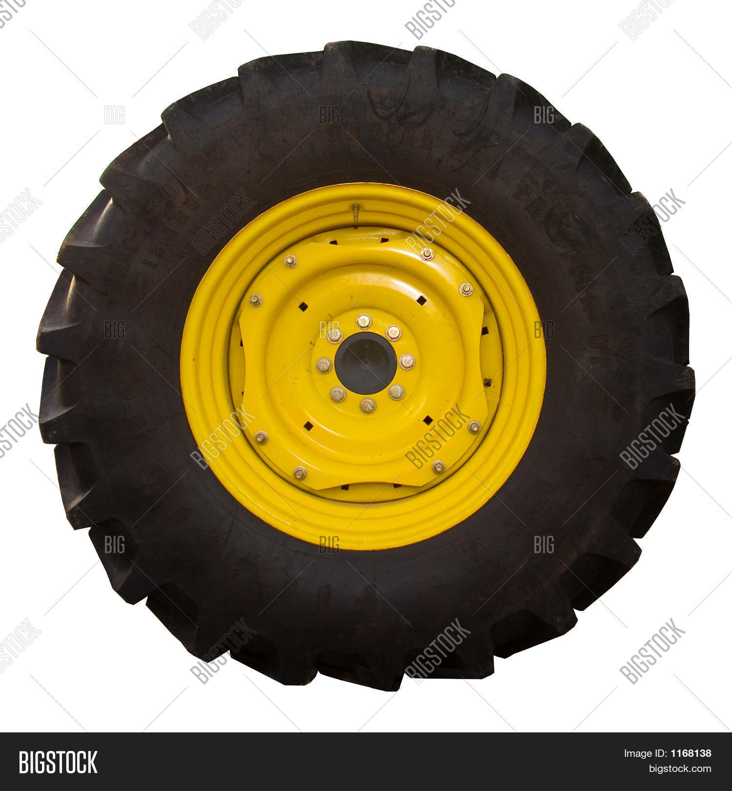 Tractor tire image photo bigstock for Big tractor tires for free
