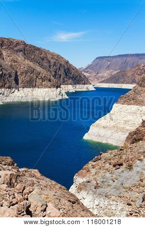 Lake Mead From Hoover Dam, Arizona