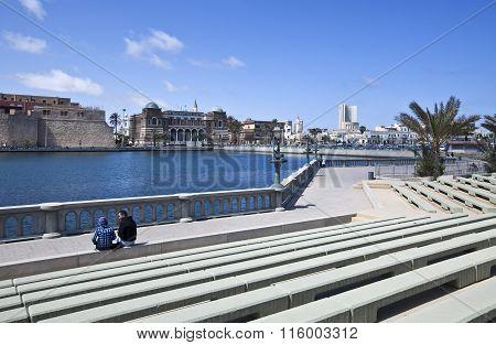Libya city view
