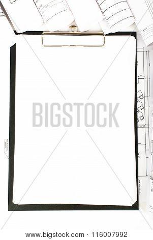 Blank folder on blueprint