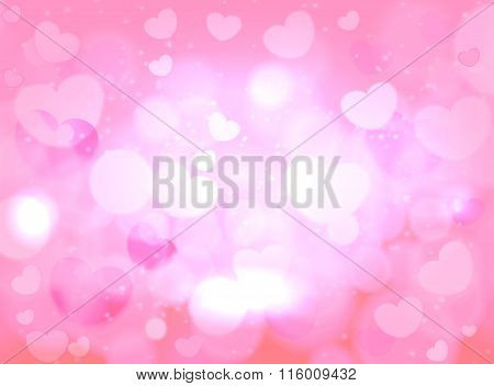 Valentines day. Abstract background for greeting card