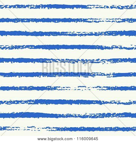 Navy Blue Striped Seamless Pattern