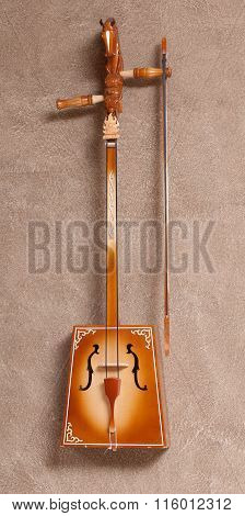 Traditional Mongolian musical instrument